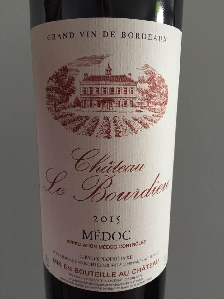 Château Le Bourdieu 2015 – Médoc – Cru Bourgeois