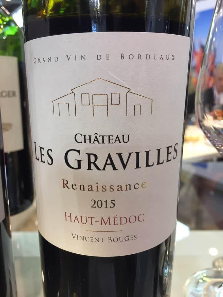 Château Les Gravilles – Renaissance 2015 – Haut-Médoc