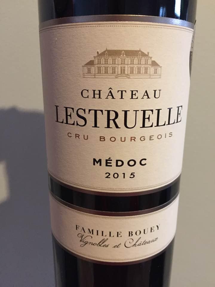 Château Lestruelle 2015 – Médoc – Cru Bourgeois