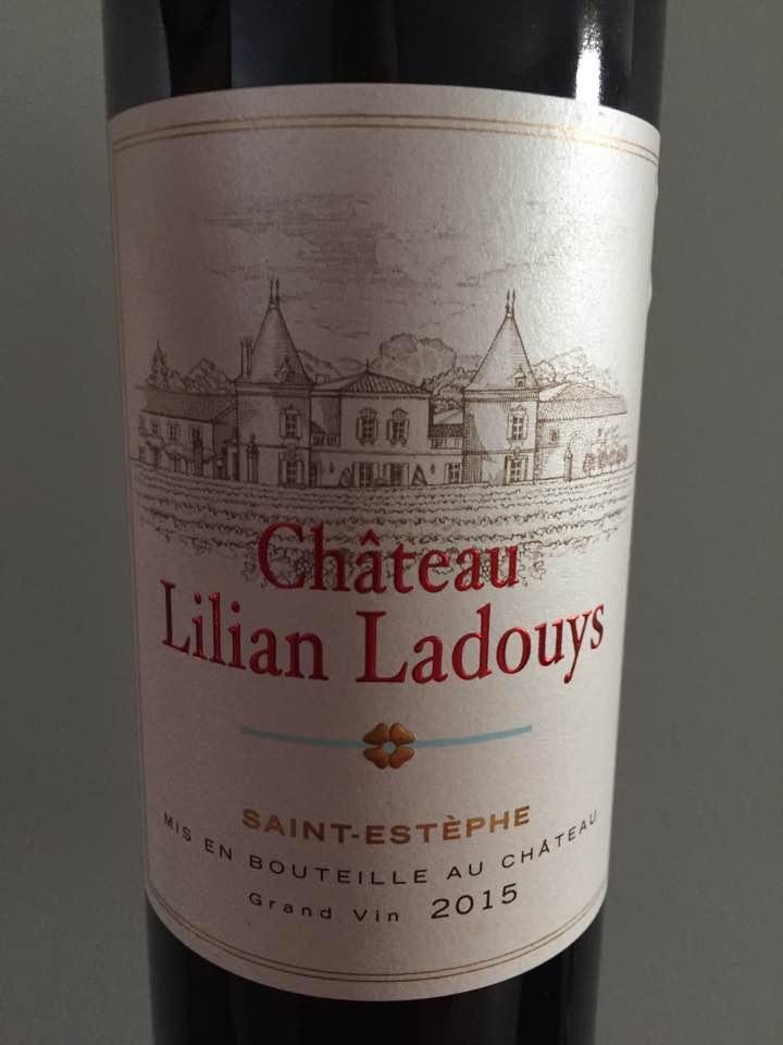 Château Lilian Ladouys 2015 – Saint-Estèphe – Cru Bourgeois