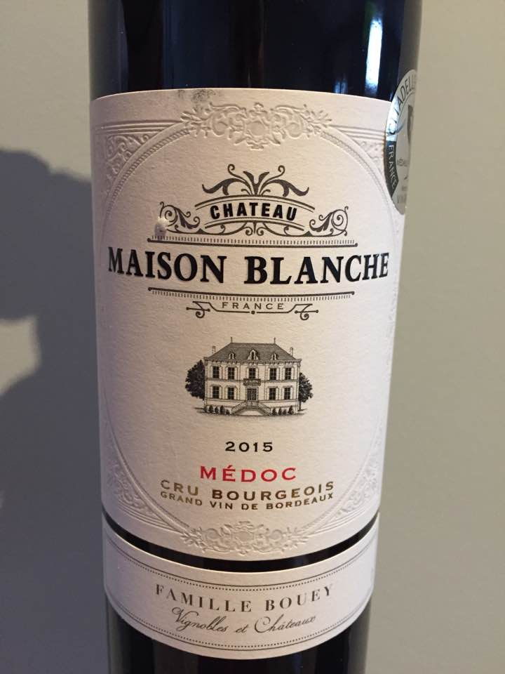 Château Maison Blanche 2015 – Médoc – Cru Bourgeois