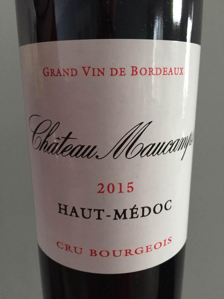 Château Maucamps 2015 – Haut-Médoc – Cru Bourgeois