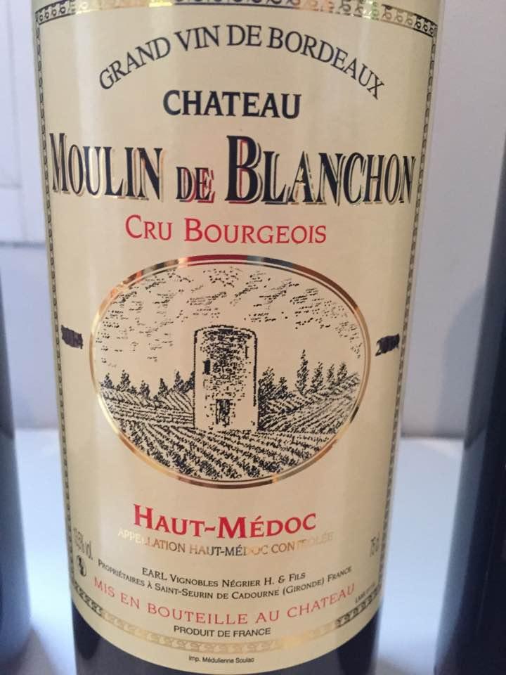 Château Moulin de Blanchon2015 – Haut-Médoc – Cru Bourgeois