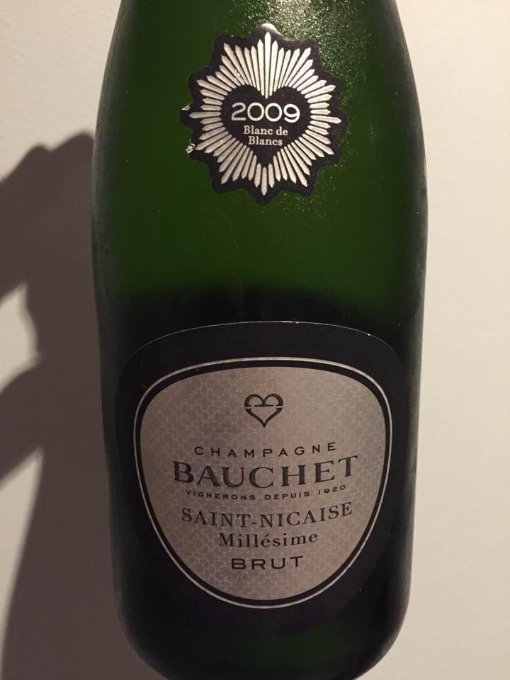 Champagne Bauchet – Saint-Nicaise 2009 – Blanc de Blancs – Brut – Premier Cru