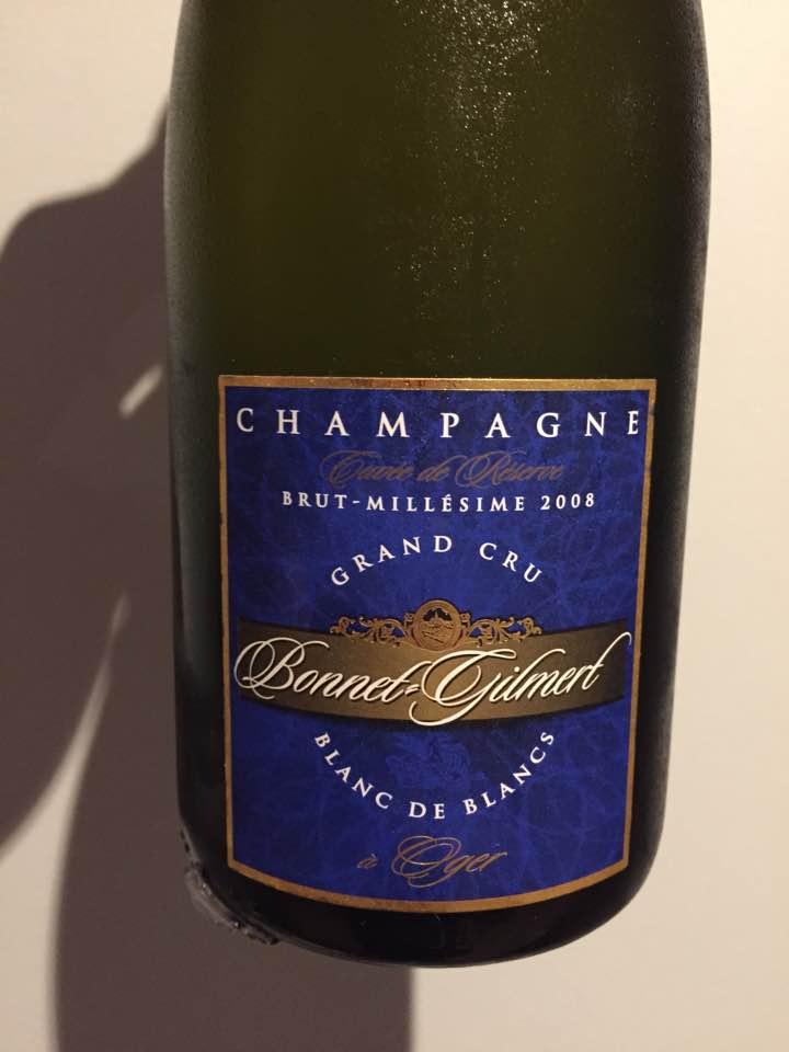 Champagne Bonnet Gilmert – Cuvée de Réserve 2008 – Blanc de Blancs – Brut – Grand Cru