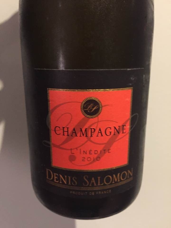 Champagne Denis Salomon – L'Inédite 2010 – Brut Nature