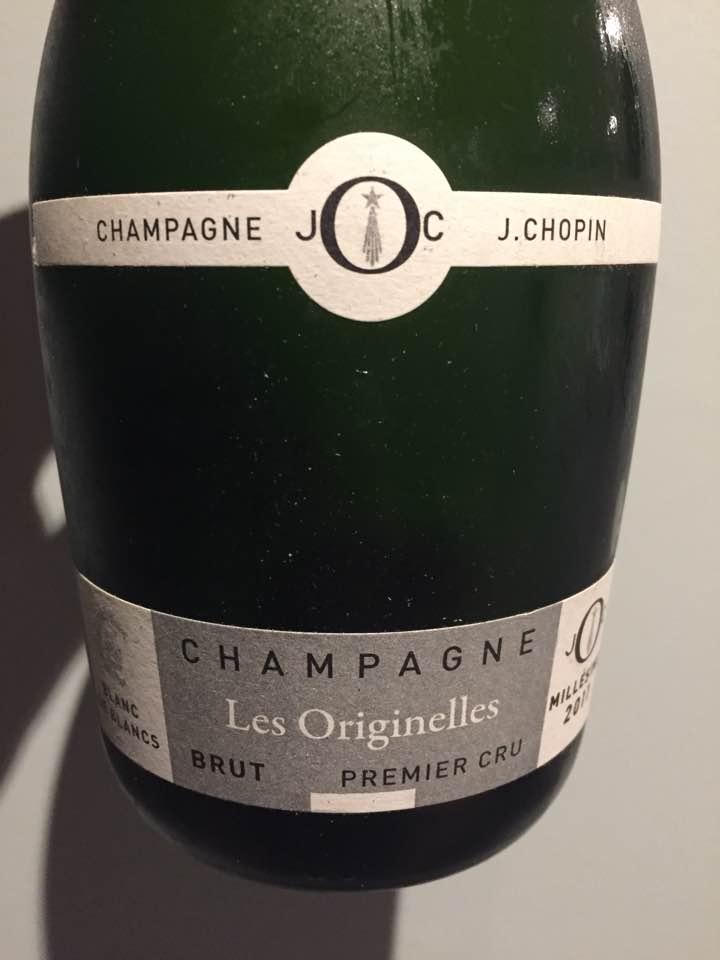 Champagne J. Chopin – Les Originelles 2011 – Blanc de Blancs – Premier Cru – Brut