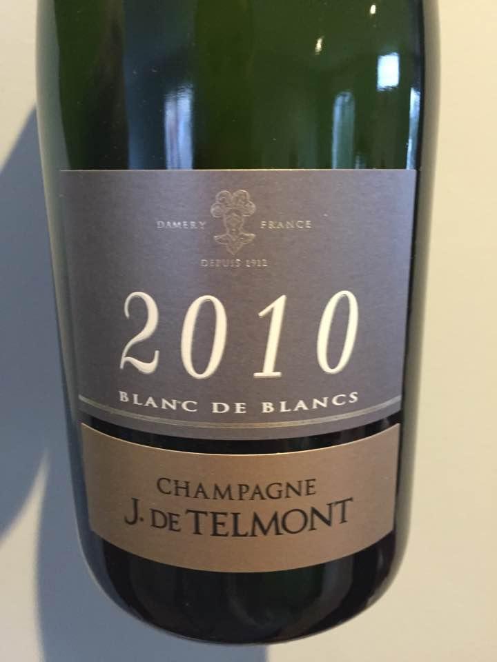 Champagne J. De Telmont – Blanc de Blancs 2010 – Brut