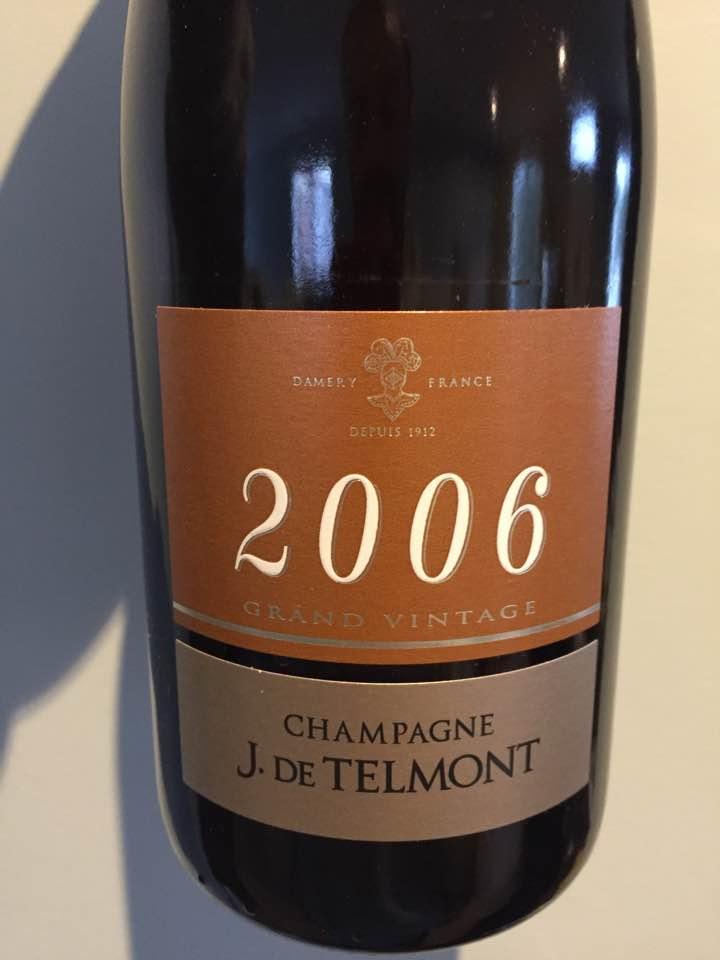 Champagne J. De Telmont  – Grand Vintage 2006 – Brut