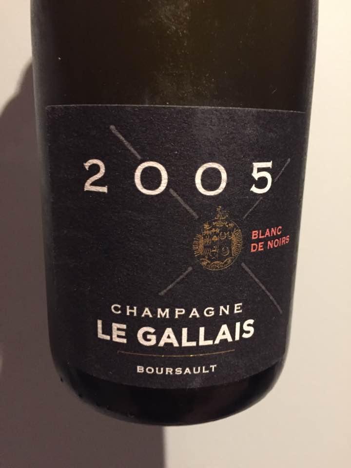 Champagne Le Gallais – Blanc de Noirs 2005 – Extra-Brut