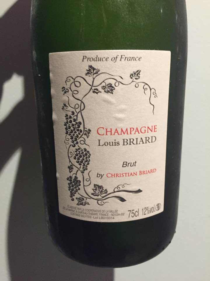 Champagne Louis Briard by Christian Briard – Brut