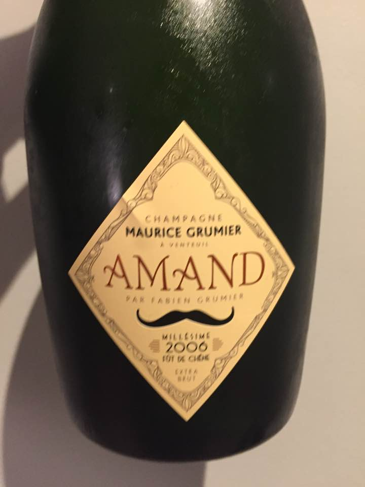 Champagne Maurice Grumier – Amand 2006 – Fût de chêne – Extra Brut