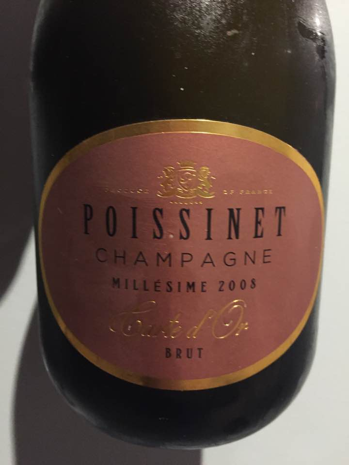 Champagne Poissinet – Carte d'Or 2008 – Brut