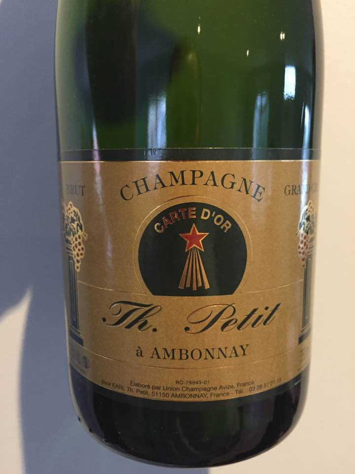 Champagne Th. Petit – Carte d'Or – Brut – Grand Cru