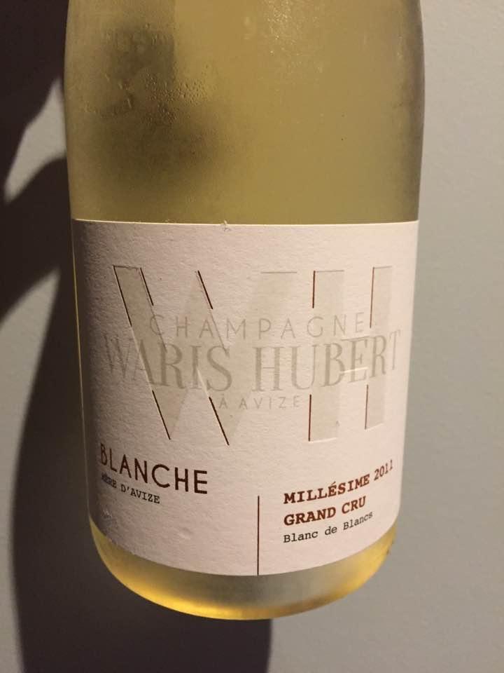 Champagne Waris Hubert – Blanche – Millésime 2011 – Blanc de Blancs – Grand Cru