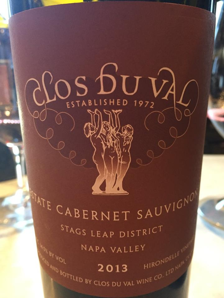 Clos du Val – Estate Cabernet Sauvignon 2013 – Stags Leap District, Napa Valley