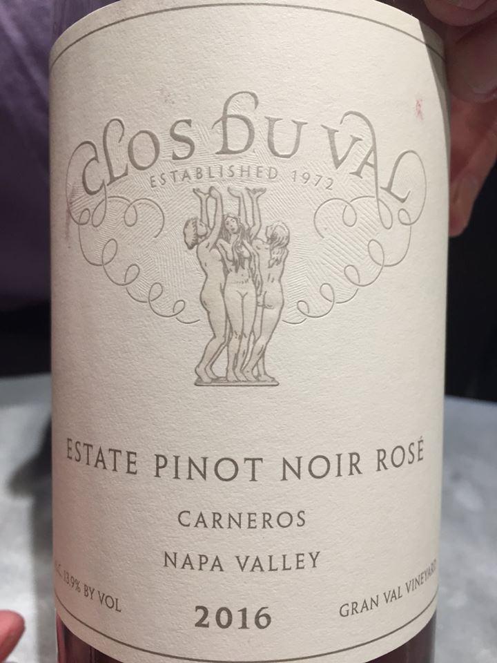 Clos du Val – Estate Pinot Noir Rosé 2016 – Carneros, Napa Valley