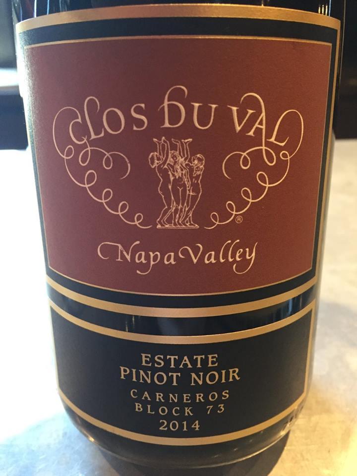 Clos du Val – Pinot Noir 2014 Carneros Block 73 – Carneros, Napa Valley