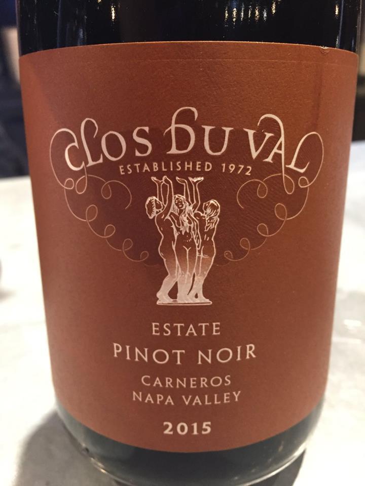 Clos du Val – Pinot Noir Esate 2015 – Carneros, Napa Valley