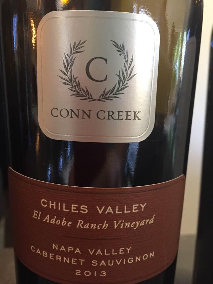 Conn Creek – Cabernet Sauvignon 2013 – El Adobe Ranch Vineyard – Chiles Valley, Napa valley