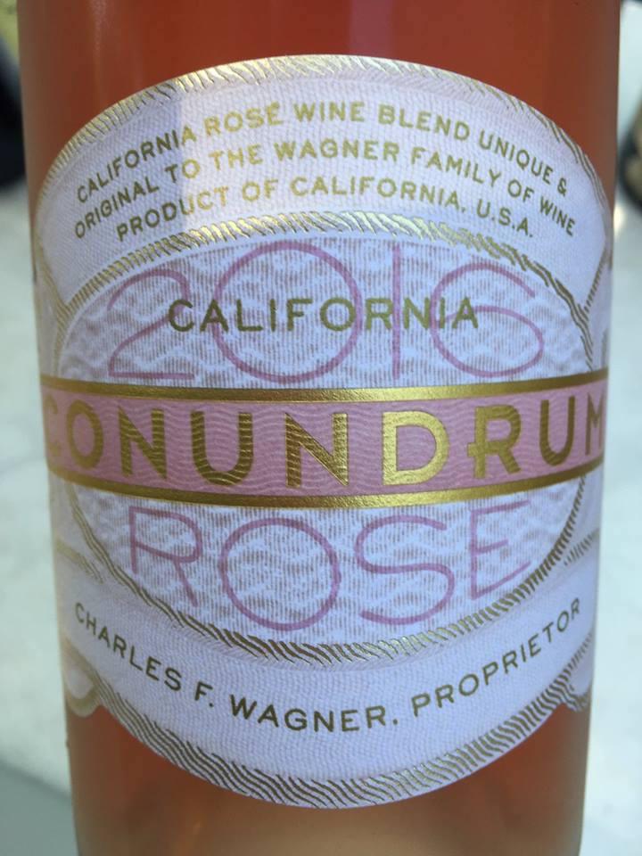 Conundrum – Rosé Wine 2016 – California