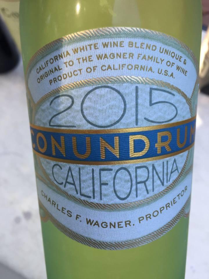 Conundrum – White wine 2015 – California