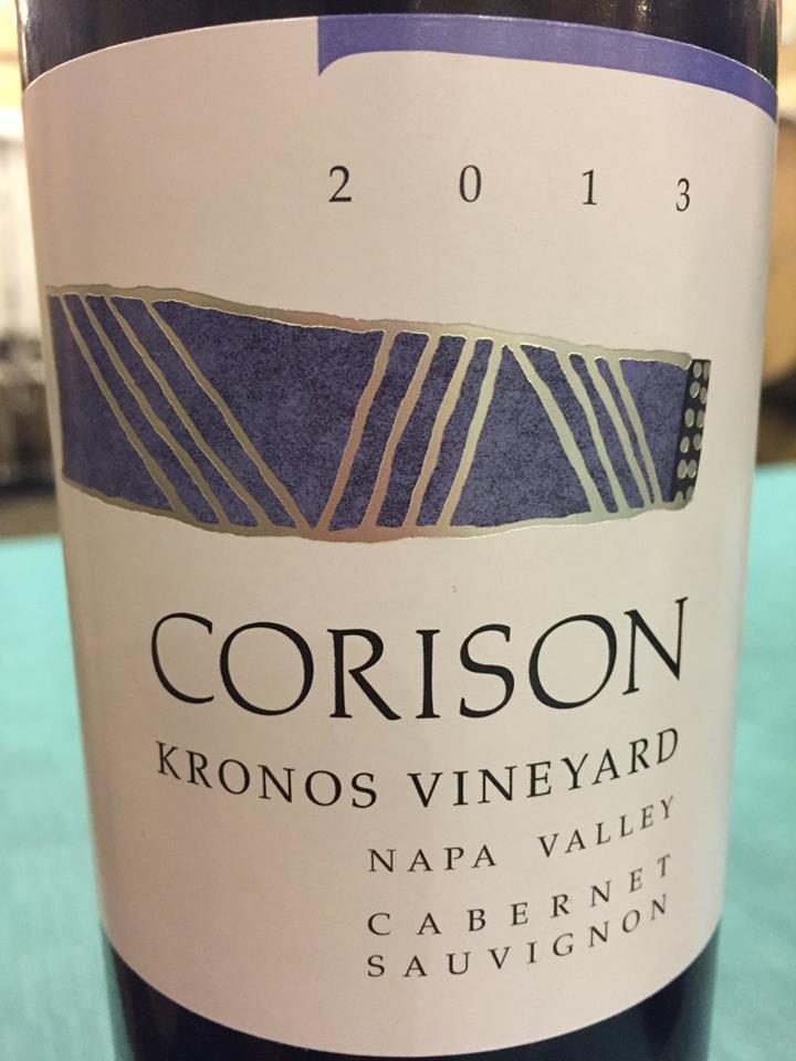 Corison – Kronos Vineyard – Cabernet Sauvignon 2013 – Napa Valley