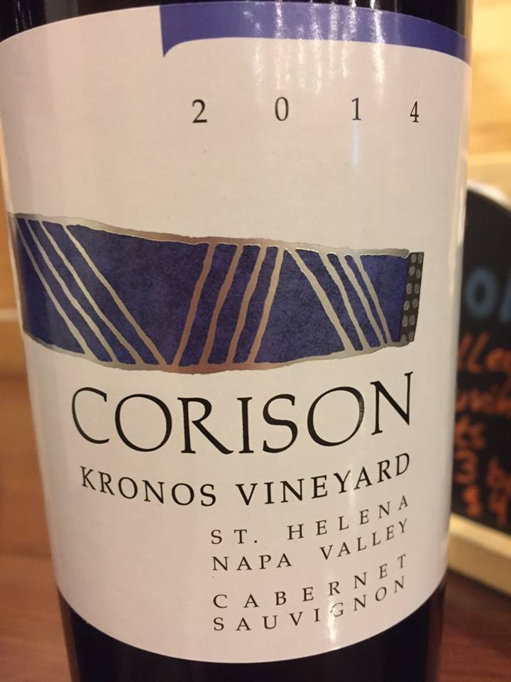 Corison – Kronos Vineyard – Cabernet Sauvignon 2014 – St. Helena – Napa Valley