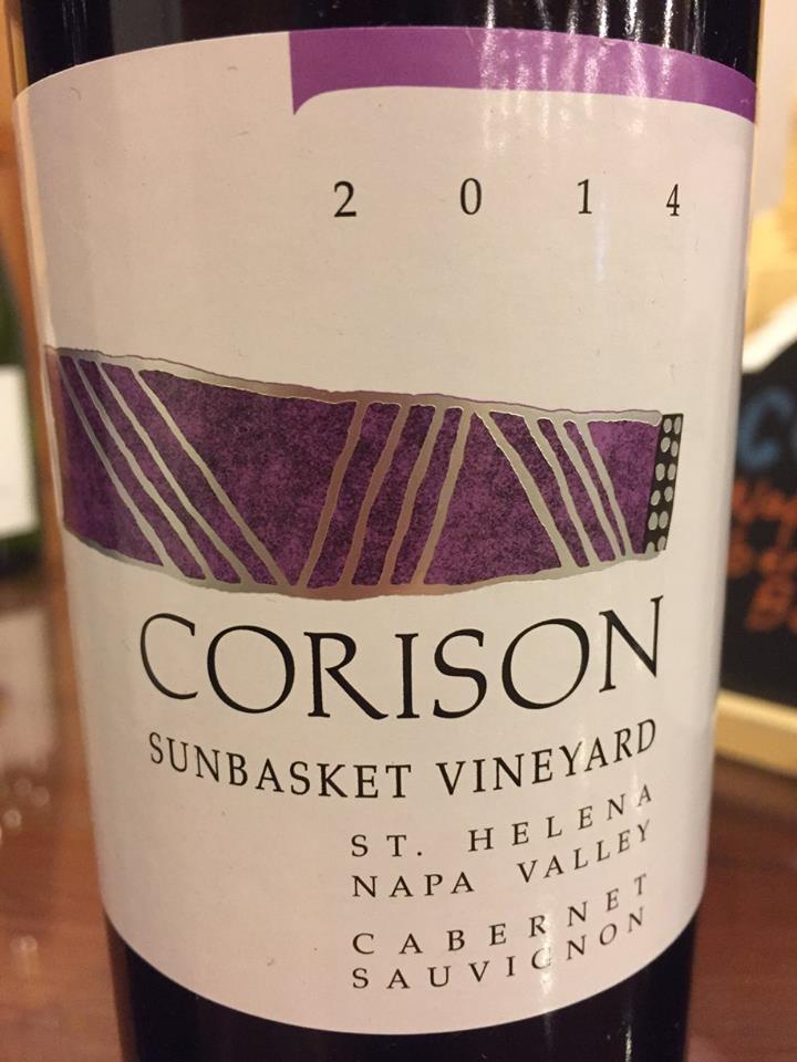 Corison – Sunbasket Vineyard – Cabernet Sauvignon 2014 – St. Helena – Napa Valley