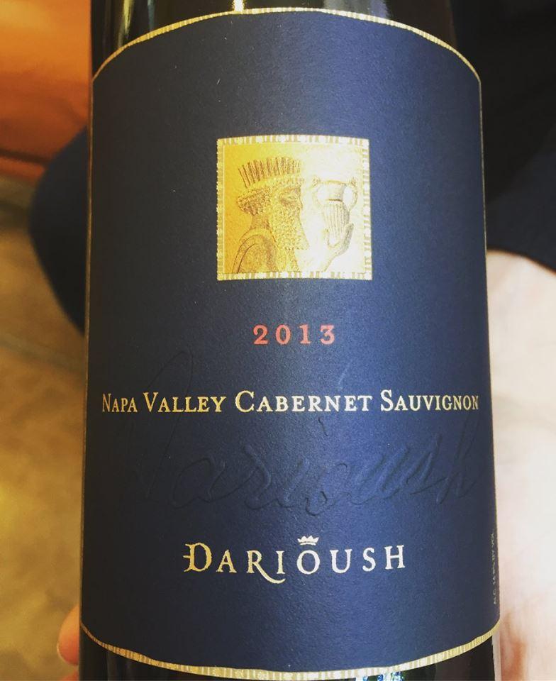 Darioush – Cabernet Sauvignon 2013 – Napa Valley