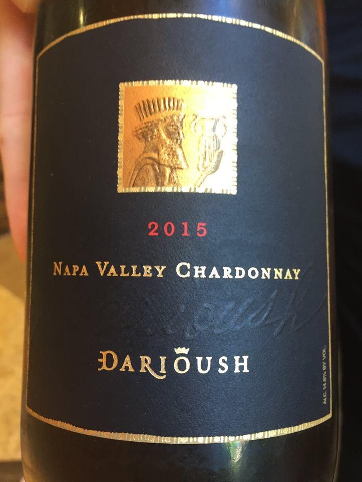 Darioush – Chardonnay 2015 – Napa Valley