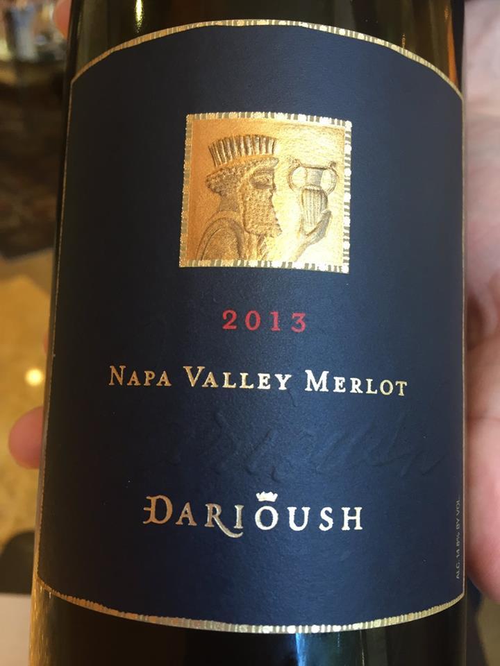 Darioush – Merlot 2013 – Napa Valley