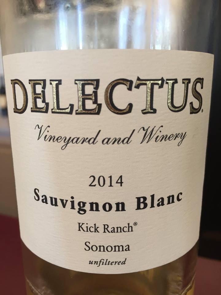 Delectus – Sauvignon Blanc 2014 – Sonoma