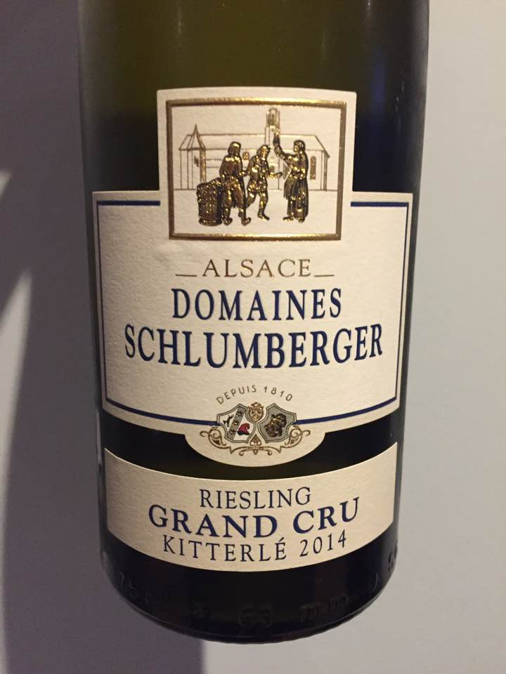 Domaines Schlumberger – Riesling 2014 – Kitterlé Grand Cru, Alsace