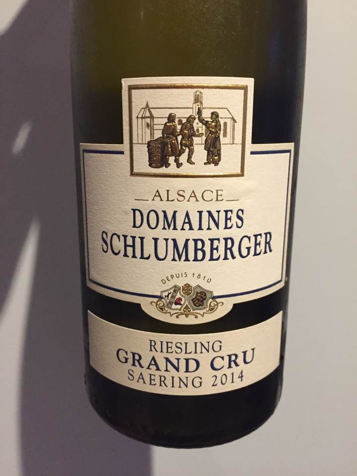 Domaines Schlumberger – Riesling 2014 – Saering Grand Cru, Alsace