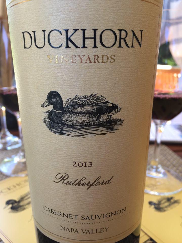 Duckhorn Vineyards – Cabernet Sauvignon 2013 – Rutherford – Napa Valley