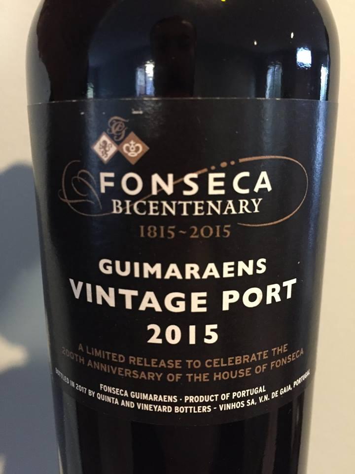 Fonseca – Guimaraens 2015 – Vintage Porto