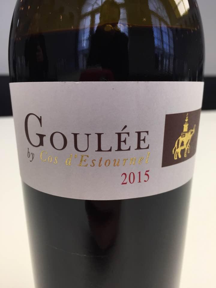 Goulée by Cos d'Estournel 2015 – Médoc