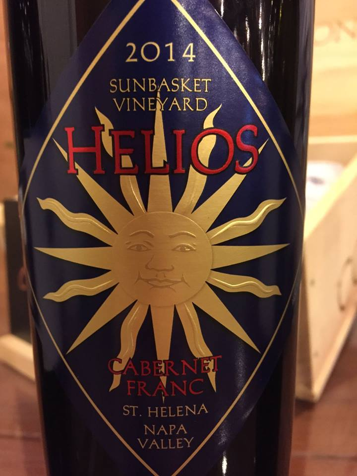 Helios – Corison – Subasquette Valley – Cabernet Franc 2014 – St. Helena – Napa Valley