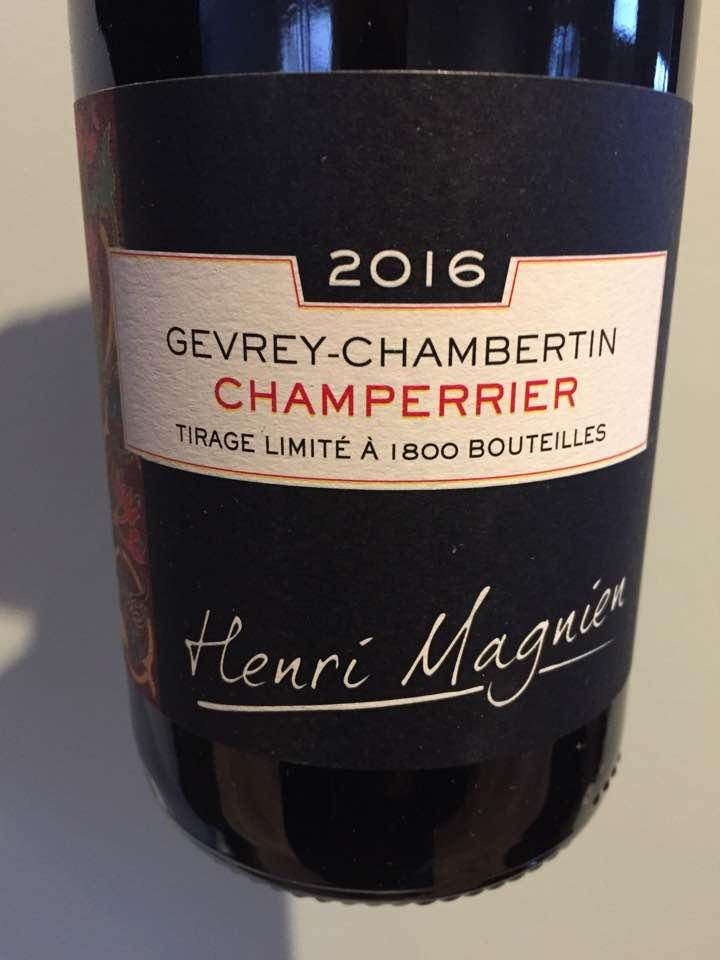 Henri Magnien 2016 – Champerrier – Gevrey-Chambertin