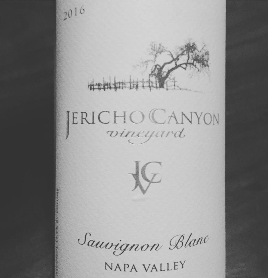 Jericho Canyon Vineyard – Sauvignon Blanc 2016 – Napa Valley
