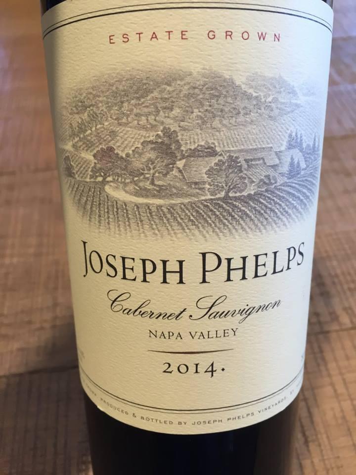 Joseph Phelps – Cabernet Sauvignon 2014 – Napa Valley