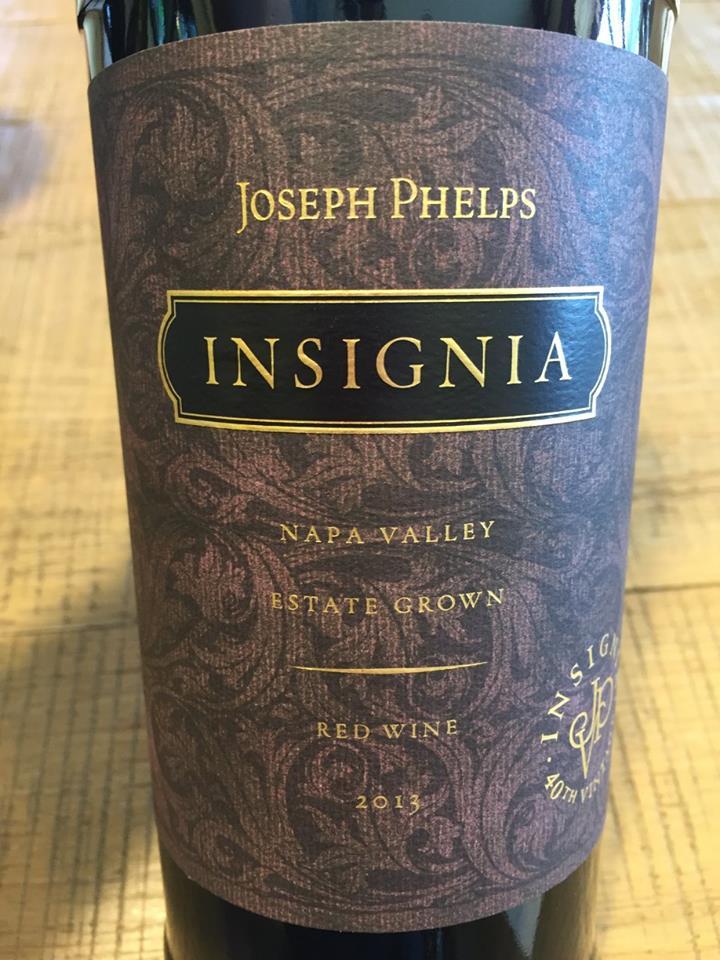 Joseph Phelps – Insignia Estate Grown 2013 – Napa Valley