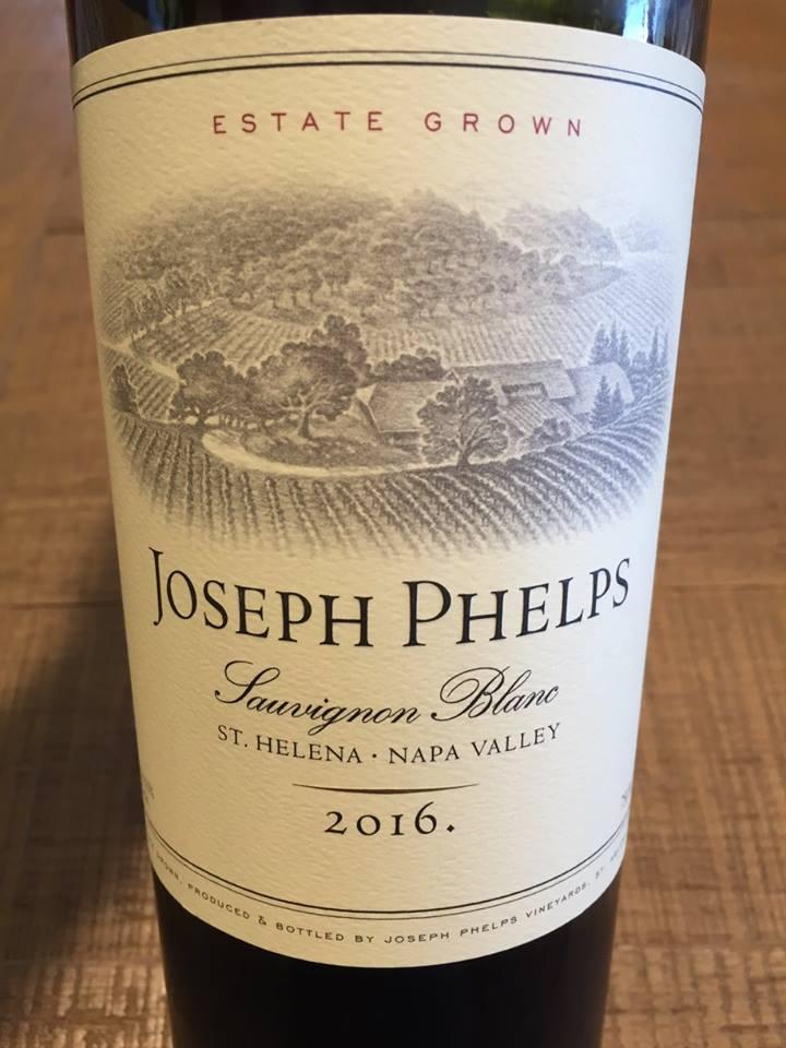 Joseph Phelps Vineyards – Sauvignon Blanc 2016 – St Helena – Napa Valley