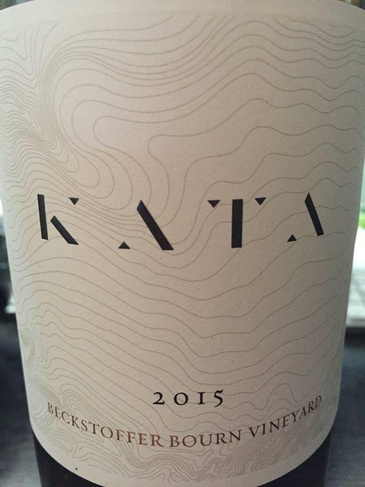 Kata 2015 – Beckstoffer Bourn Vineyard – Napa Valley
