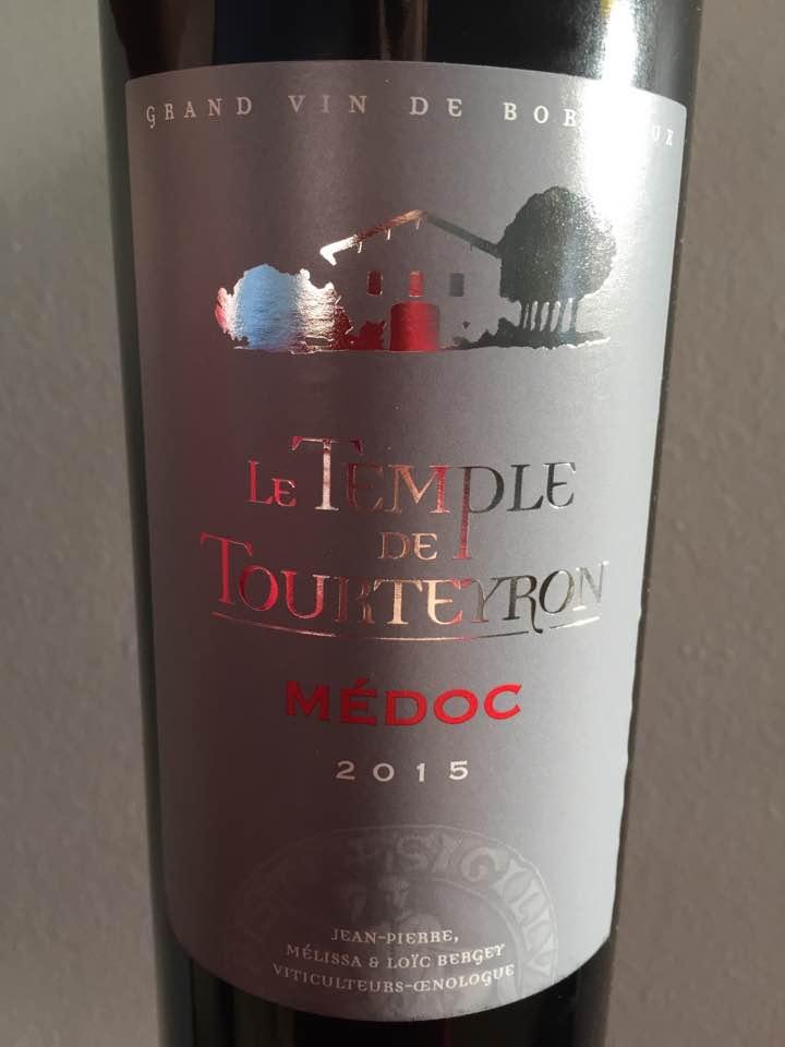 Le Temple de Tourteyron 2015 – Médoc