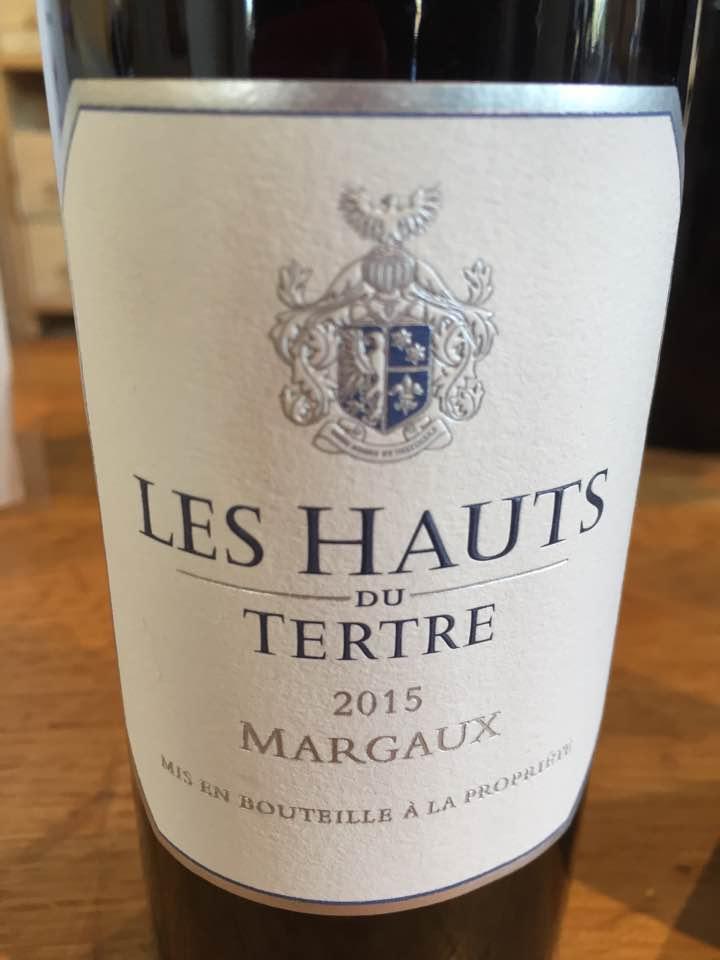 Les Hauts du Tertre 2015 – Margaux