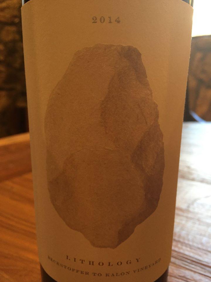 Lithology by Alexandro Bulgheroni Estate – Beckstoffer to Kalon Vineyard – Cabernet Sauvignon 2014 – Oakville, Napa Valley