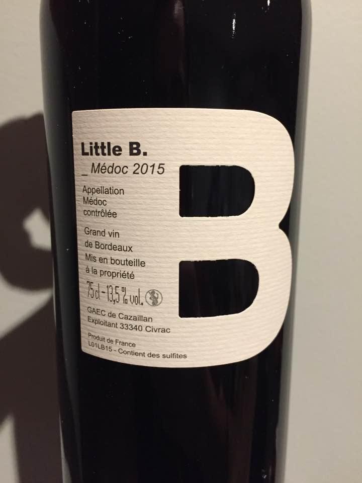Little B. 2015 – Médoc
