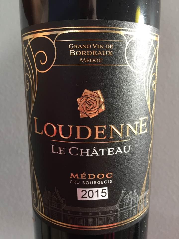 Loudenne Le Château 2015 – Médoc – Cru Bourgeois